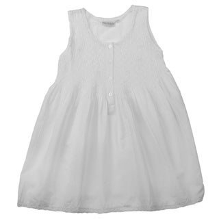 Embroidered Machine-Washable Children's Nightgown