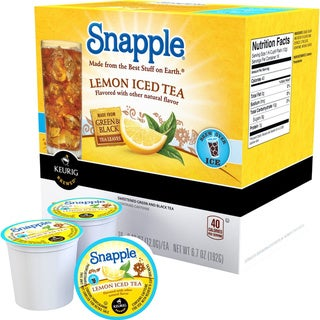 Snapple Lemon Iced Tea K-Cup Portion Packs for Keurig K Cup Brewer (44 count)