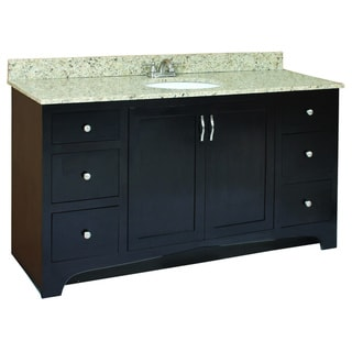 Design House Ventura Espresso 4-Drawer Vanity Cabinet