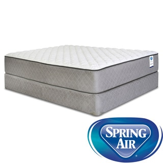 Spring Air Back Supporter Hayworth Firm Full-size Mattress Set