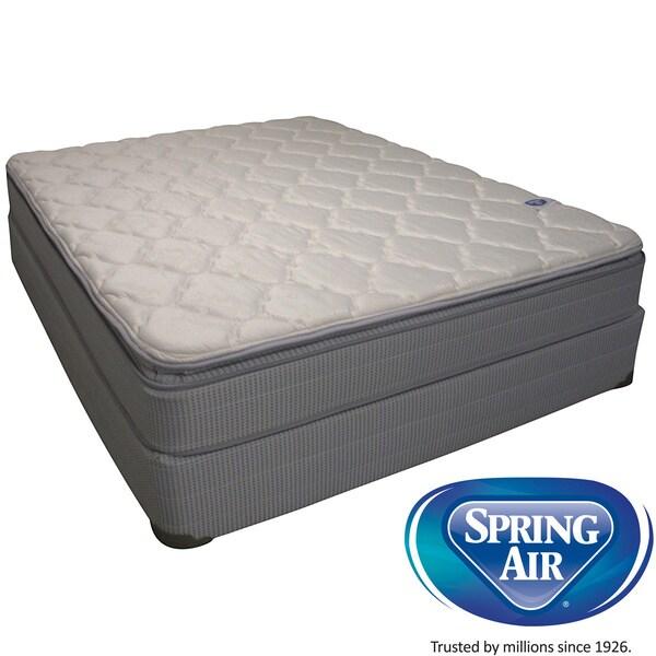 Spring Air Value Abbott Pillow Top King-Size Mattress Set