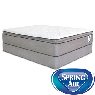 Spring Air Back Supporter Hayworth Pillow Top King-Size Mattress Set