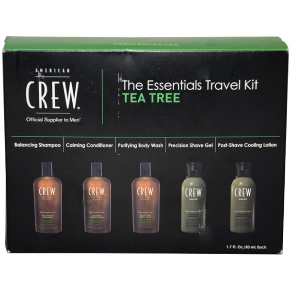American Crew The Essentials Travel Kit Tea Tree 5-piece Set