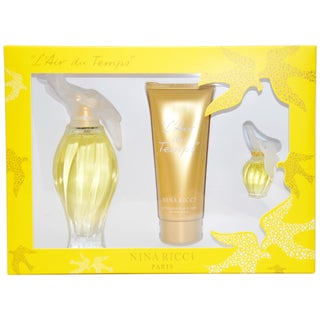 Nina Ricci 'L'Air du Temps' Women's 3-piece Fragrance Gift Set