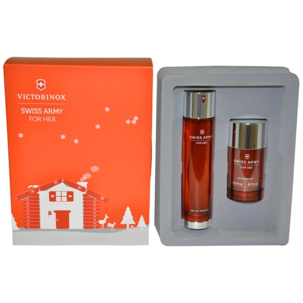 Victorinox 'Swiss Army for Her' Women's 2-piece Fragrance Gift Set