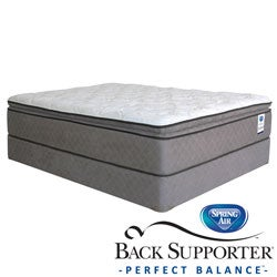 Spring Air Back Supporter Hayworth Pillow Top Twin XL-Size Mattress Set