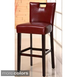 Keter Casual Leatherette Bar Stools (Set of 2)