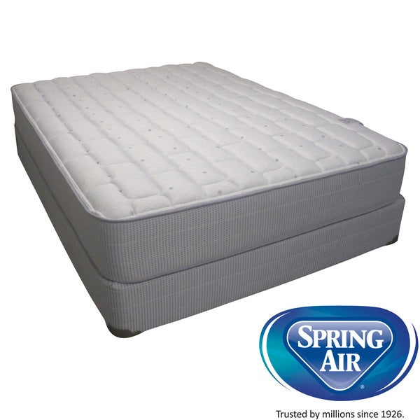 Spring Air Value Addison Firm Full Size Mattress Set