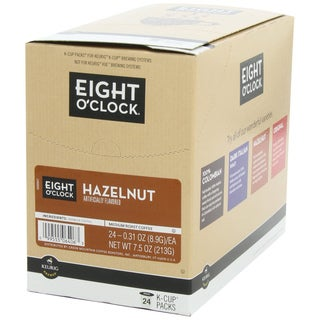 Eight O'Clock Coffee Hazelnut K-Cups for Keurig K-Cup Brewers (96 K-Cups)