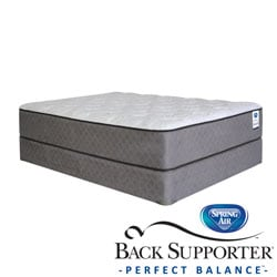 Spring Air Back Supporter Hayworth Plush California King-size Mattress Set