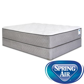Spring Air Back Supporter Hayworth Plush Queen-Size Mattress Set