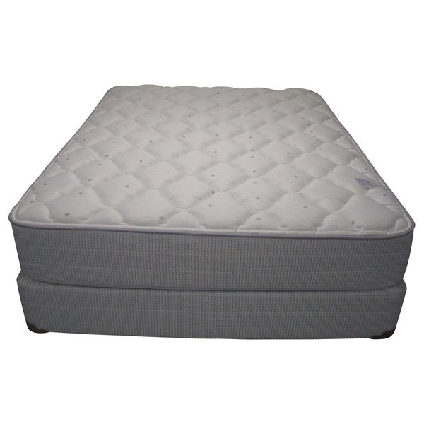 Spring Air Value Addison Plush Queen-size Mattress Set