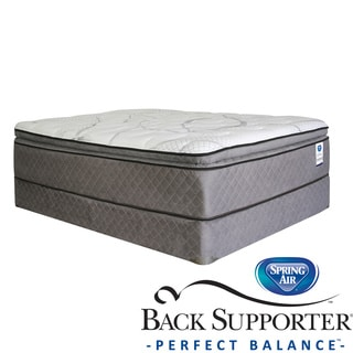 Spring Air Back Supporter Parksdale Pillow Top Queen-size Mattress Set