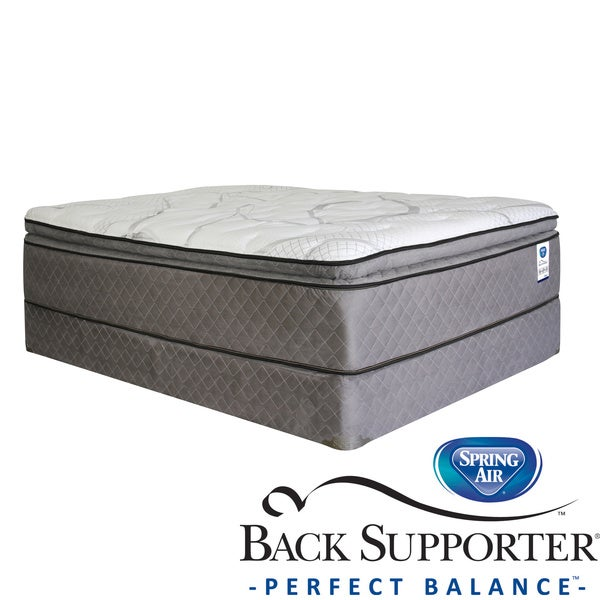 Spring Air Back Supporter Parksdale Pillow Top Queen size