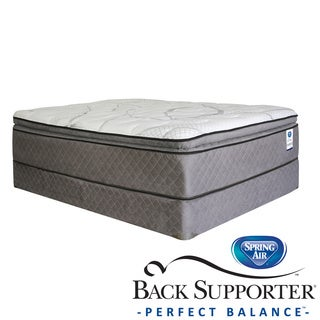 Spring Air Back Supporter Parksdale Pillow Top Full-size Mattress Set