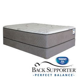 Spring Air Back Supporter Parksdale Firm California King-size Mattress Set