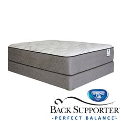 Spring Air Back Supporter Parksdale Plush Twin XL-size Mattress Set