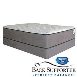 Spring Air Back Supporter Parksdale Firm King-size Mattress Set