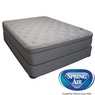 Spring Air Value Addison Euro Top Queen-size Mattress Set