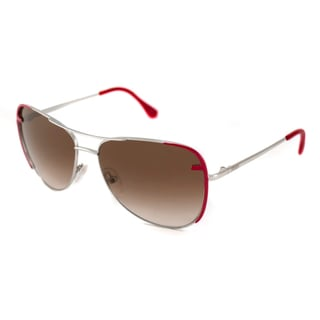 Fendi Women's FS5289 Red Aviator Sunglasses
