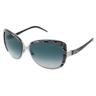 Roberto Cavalli Women's RC654S Rosmarino Rectangular Metal Sunglasses