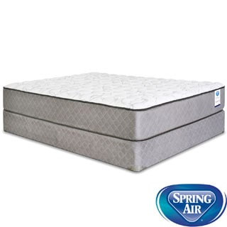 Spring Air Back Supporter Bardwell Firm Queen-size Mattress Set