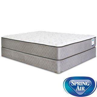 Spring Air Back Supporter Bardwell Firm King-size Mattress Set