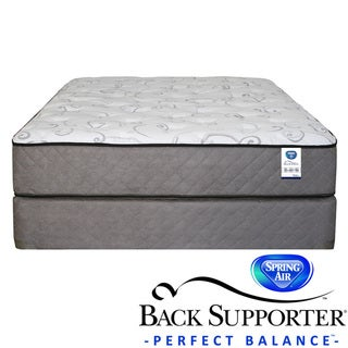 Spring Air Back Supporter Bardwell Plush Queen-size Mattress Set