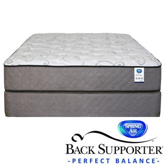 Spring Air Back Supporter Bardwell Plush California King-size Mattress Set