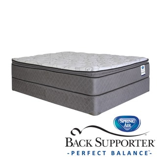 Spring Air Back Supporter Bardwell Pillow Top Twin XL-size Mattress Set