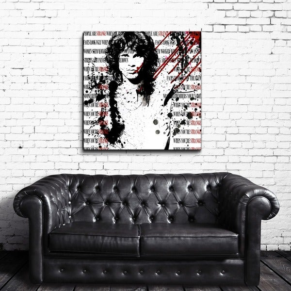 Alexis Bueno 'When You're Strange' Acrylic Wall Art