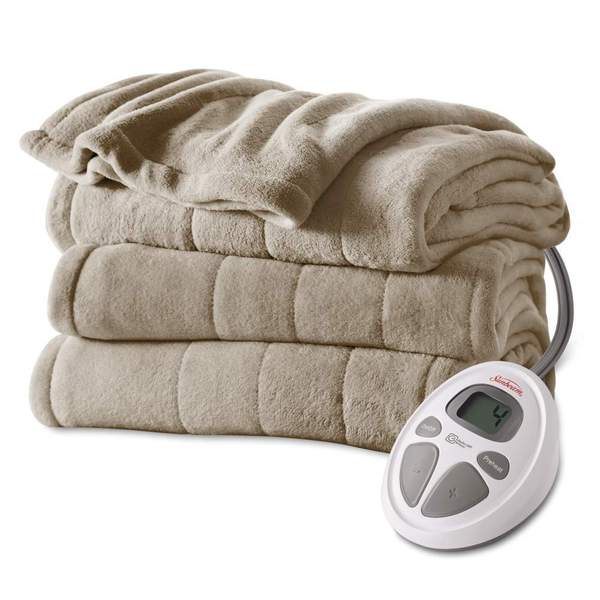 Sunbeam Microplush Heated Blanket (King)