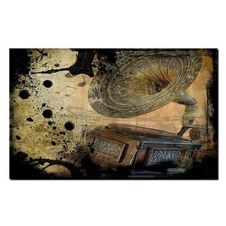 Alexis Bueno 'Abstract Graphaphone' Canvas Wall Art