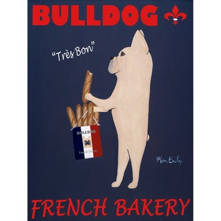 Ken Bailey 'Bulldog French Bakery' Paper Print (Unframed)