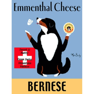Ken Bailey 'Emmenthal Cheese Bernese' Paper Print (Unframed)