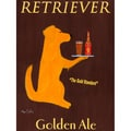 Ken Bailey 'Golden Retriever Ale' Paper Print (Unframed)