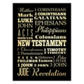 New Testament' Paper Print (Unframed)