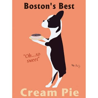 Ken Bailey 'Boston's Best Pie' Paper Print (Unframed)