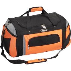 Everest Deluxe Sports Duffel S232 Orange/Light Grey/Black