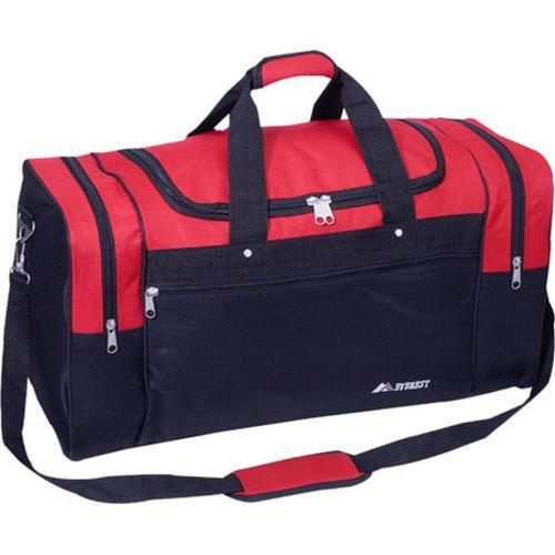 Everest Large Sports Duffel Red /Black