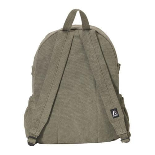 Everest Large Canvas Backpack Olive