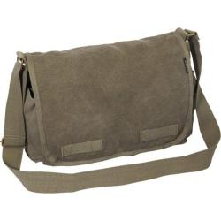 Everest Large Canvas Messenger Olive