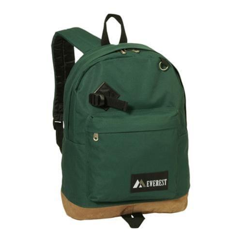 Everest Suede Bottom Backpack Green/Grey