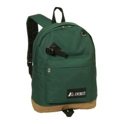 Everest Suede Bottom Backpack Green/Grey