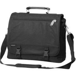 Everest Wide Portfolio Briefcase 266W Black