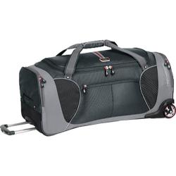 High Sierra 30in Wheeled Cargo Duffel Greystone/Shadow/Black