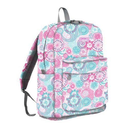 J World Campus Backpack Blue Raspberry