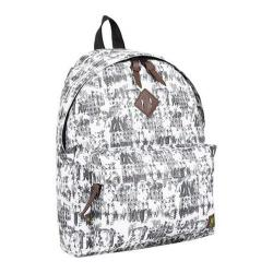 J World Campus Mini Backpack Frost White