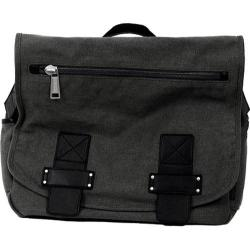 Kenneth Cole Reaction 2nd Generation 4in Single Gusset Messenger Bag Charcoal
