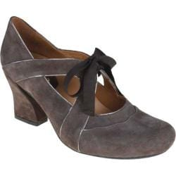 Women's Earthies Sarenza Too Dark Taupe Kid Suede